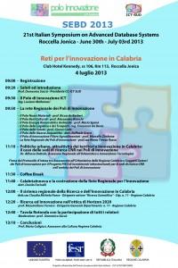SEBD 2013-Reti Innovazione