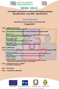 SEBD 2013-Smart