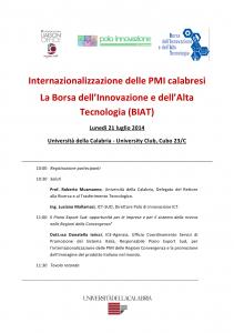 Locandina Seminario BIAT 21-07