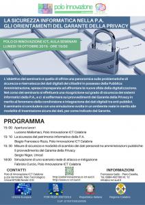La Sicurezza Informatica nella PA Gli orientamenti del Garante